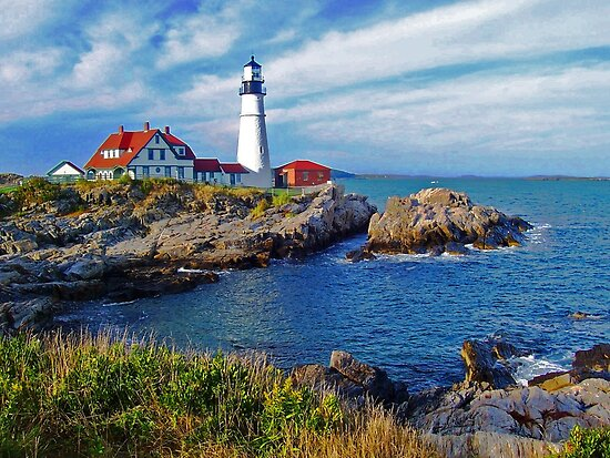 Portland Head Lighthouse by John Carpenter