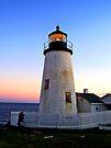 Pemmaquid Lighthouse, Maine by John Carpenter