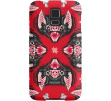 Bat Head Pattern Samsung Galaxy Case/Skin