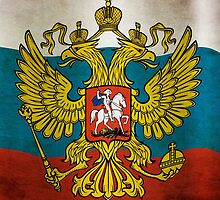 Waving flag of Russia by pASob-dESIGN