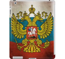Waving flag of Russia iPad Case/Skin