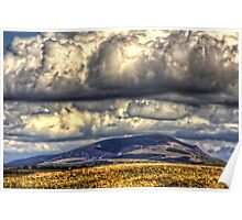 Clouds over Tinto Poster