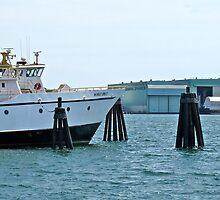 Munnatawket Ferry - New London CT - Thames Series by Jack McCabe