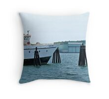 Munnatawket Ferry - New London CT - Thames Series Throw Pillow