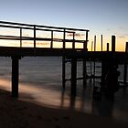 Morning Glimmer - Old Bundegi Jetty, Exmouth WA Australia by cookieshotz