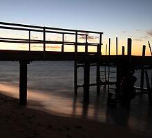Morning Glimmer - Old Bundegi Jetty, Exmouth WA Australia by cookieshotz