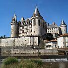 Chateau de la Rochefoucauld by figureman
