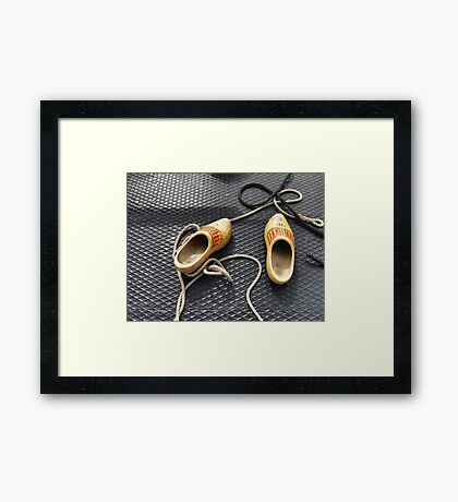 SAIL Amsterdam - shoes (5) Framed Print