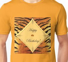 Tiger Birthday Unisex T-Shirt