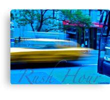 Rush Hour NYC Canvas Print