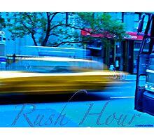Rush Hour NYC Photographic Print