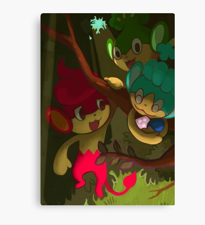 Pan Pokemon Canvas Print