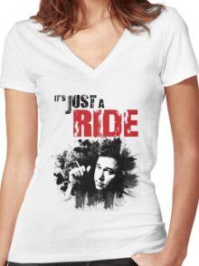 Bill Hicks Women's Fitted V-Neck T-Shirt
