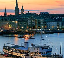 Stockholm By Night by Inge Johnsson