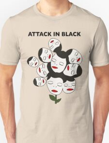 Attack In Black T-Shirt