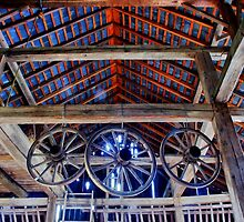 Inside a Burnside Plantation barn..... by DaveHrusecky