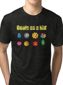 Pokemon - Kanto Badges Tri-blend T-Shirt