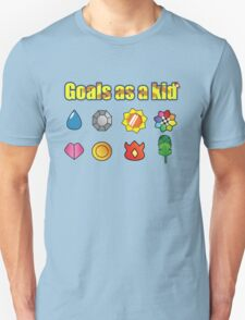 Pokemon - Kanto Badges Unisex T-Shirt