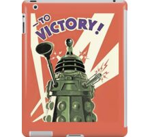 Doctor Who - Daleks to the Victory iPad Case/Skin
