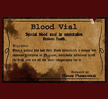 Blood Vial - Bloodborne by Anders Andersen
