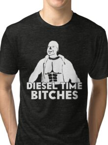 Paul Walker - Diesel Time Bitches Tri-blend T-Shirt