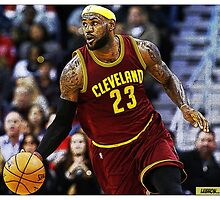 Lebron James by Yahwey7