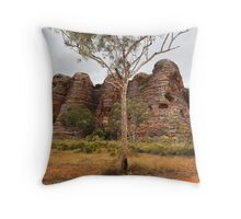 Purnululu Domes Throw Pillow