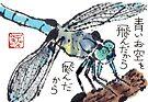 Blue Dragonfly by dosankodebbie