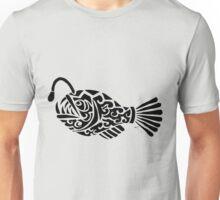Angler Fish Tribal Design  Unisex T-Shirt