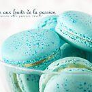 Macarons aux fruits de la passion II by the-novice