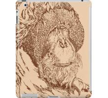 Leonardo Da Orangutan iPad Case/Skin