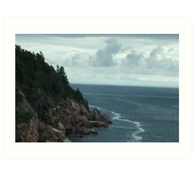 Atlantic Coast Art Print