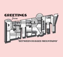 Greetings from Pewter City One Piece - Short Sleeve