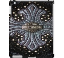 H-D Leather logo iPad Case/Skin