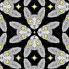 Sphynx Cat Pattern by chobopop