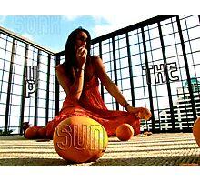 Soak Up The Sun Photographic Print
