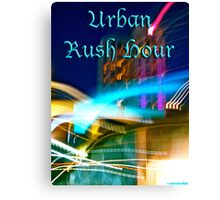 Urban Rush Hour Canvas Print
