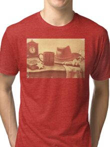 """'Bout Ready, Sheriff?""... prints and products Tri-blend T-Shirt"