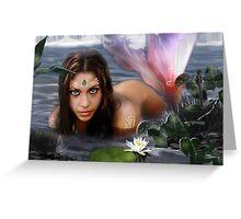 Mermaid Lagoon Greeting Card