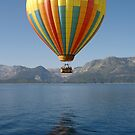 Hot Air Balloon Lake Tahoe by ZIGSPHOTOGRAPHY