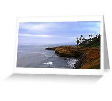 Sunset Cliffs @ San Diego, California  Greeting Card