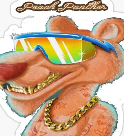 RiFF RAFF Peach Panther Sticker