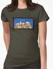 Padova Steamer Trunk Style Womens Fitted T-Shirt