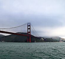 The Bay and The Golden Gate Bridge by cvrestan