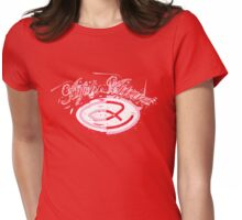 Atfish logo - Pink/Red Womens Fitted T-Shirt