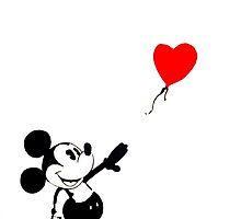 Mickey Mouse - Banksy  by ZSepaul