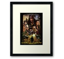 Pirates of the Caribbean Poster Framed Print