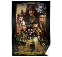 Pirates of the Caribbean Poster Poster