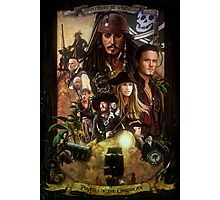 Pirates of the Caribbean Poster Photographic Print