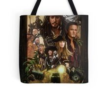 Pirates of the Caribbean Poster Tote Bag